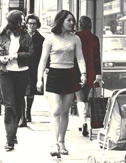 Mini Skirt - 1960's - 70's fashion